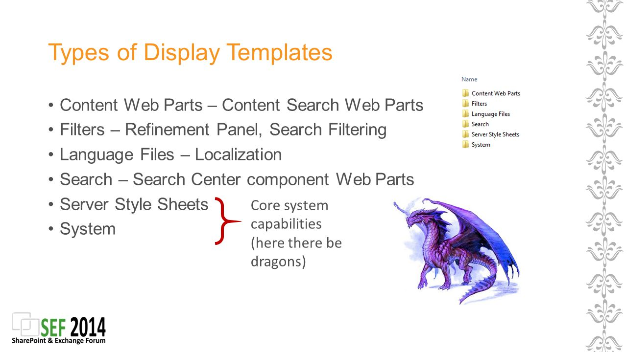 Anatomy of a Display Template Marc D Anderson. Who Is Marc? - ppt ...