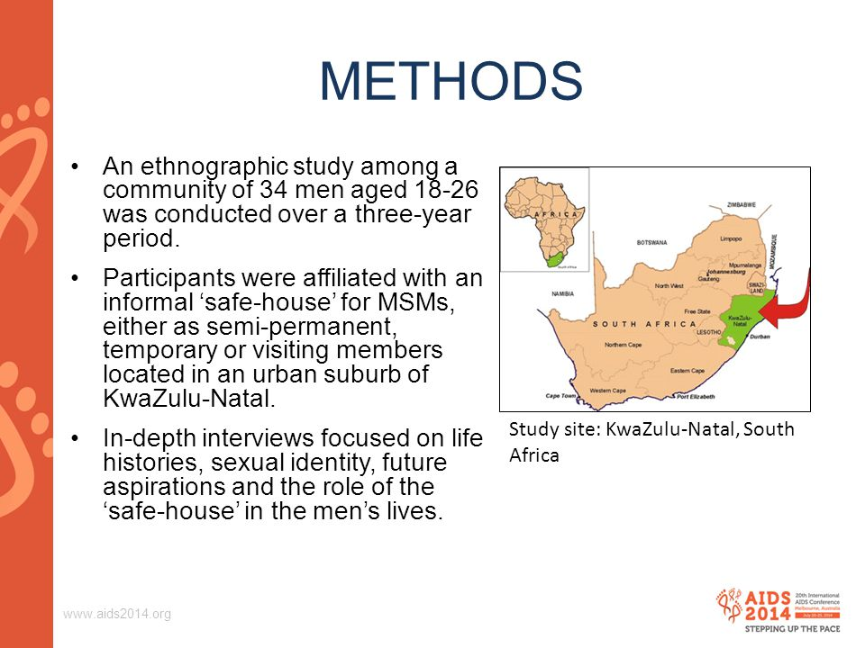 METHODS An ethnographic study among a community of 34 men aged was conducted over a three-year period.