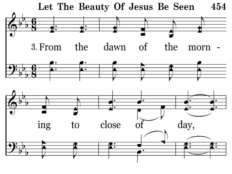 454 - Let The Beauty Of Jesus Be Seen - 3.1
