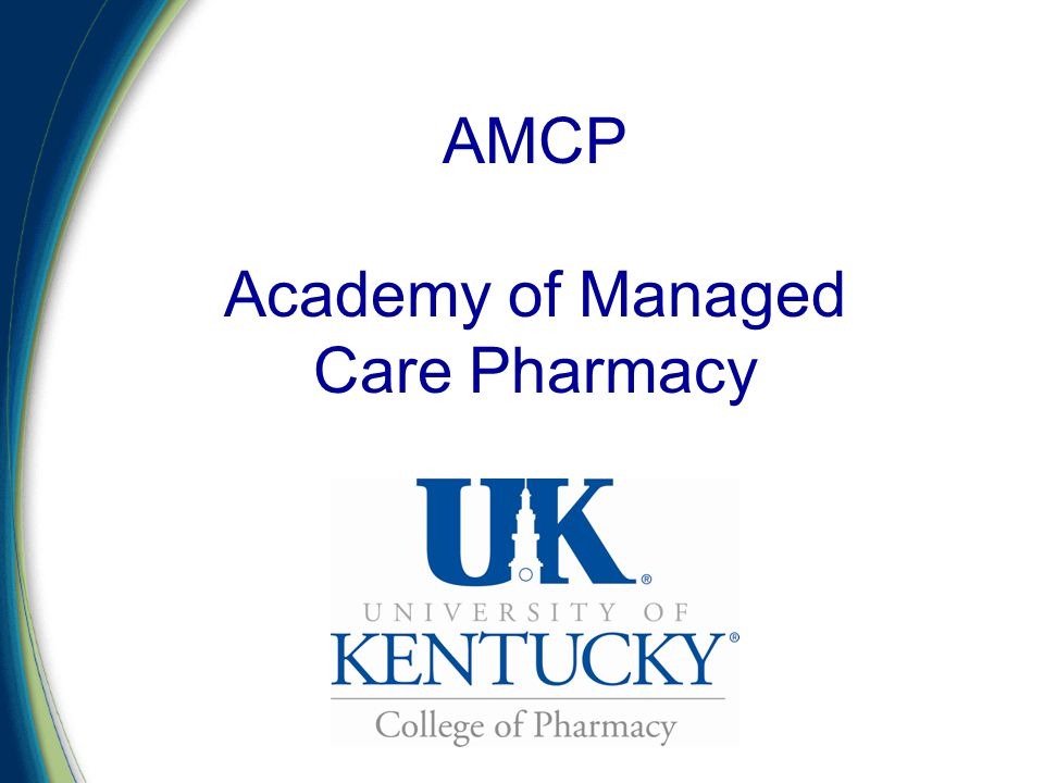 AMCP Academy of Managed Care Pharmacy