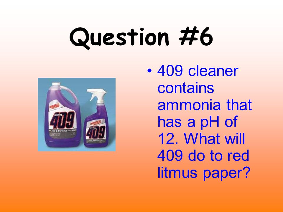Question #5 How do you think we came up with the term acid rain