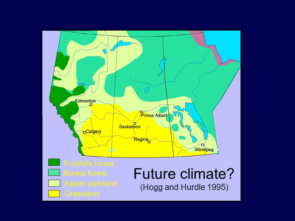 Future climate (Hogg and Hurdle 1995)