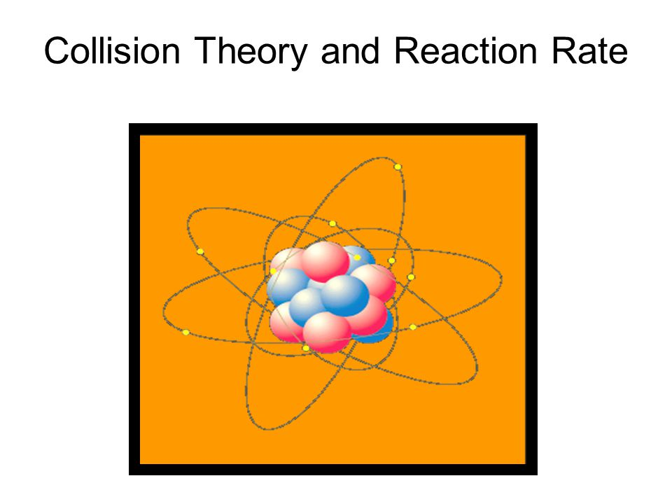 Collision Theory and Reaction Rate