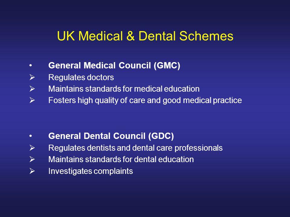 Medical & Dental Schools in the United Kingdom Dr K M Tekeli
