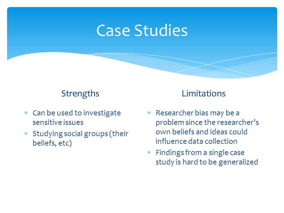 case study data collection methods