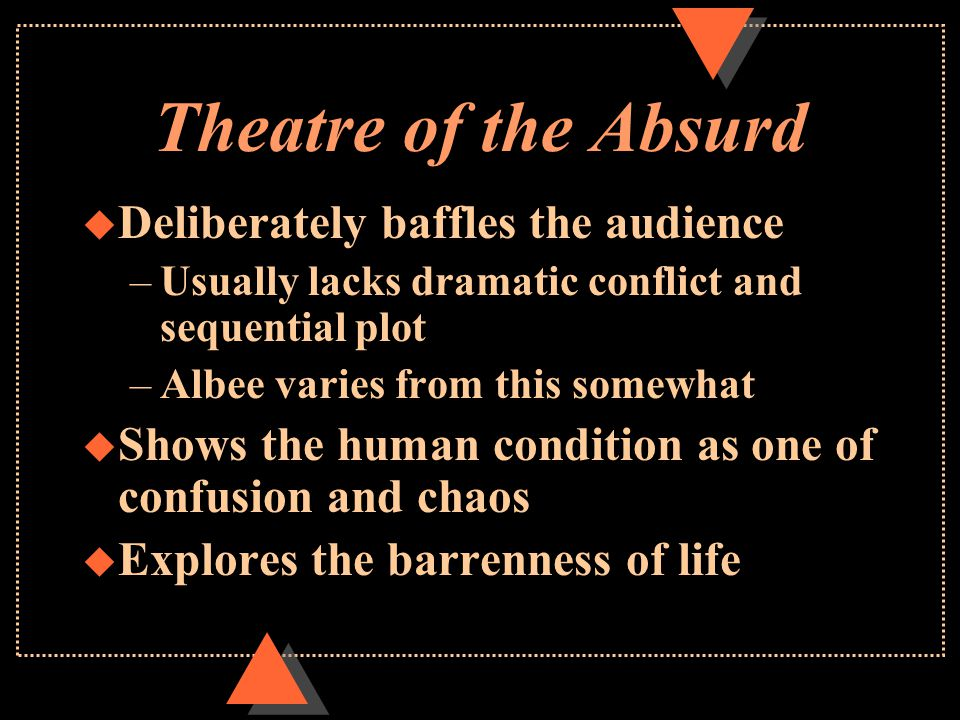 Theatre Of The Absurd Ppt Download