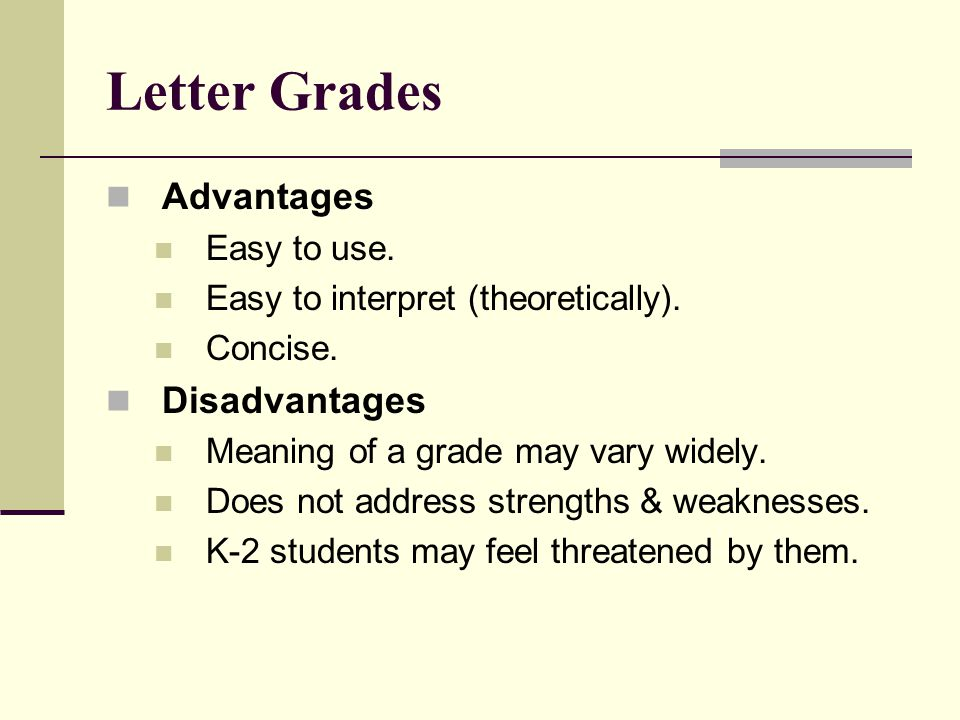 Grading Why do we grade To municate To tell students how they