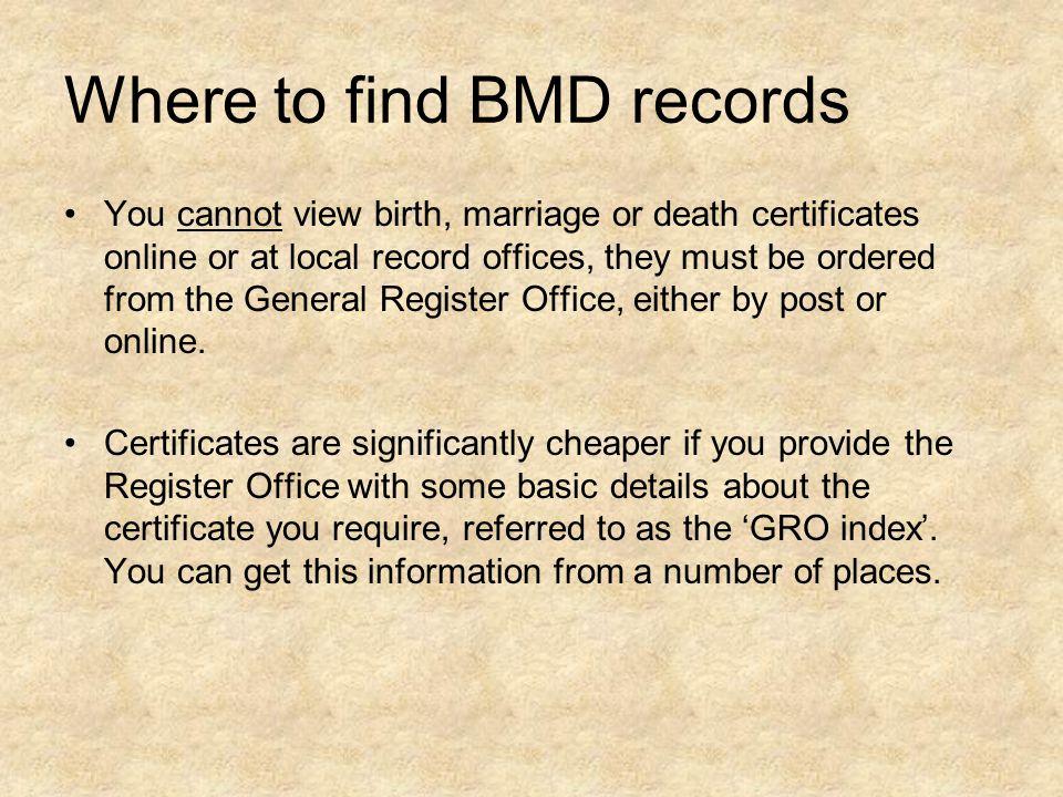 Civil Registration A basic guide Amanda Worthy Ruth Cammies 15 th ...