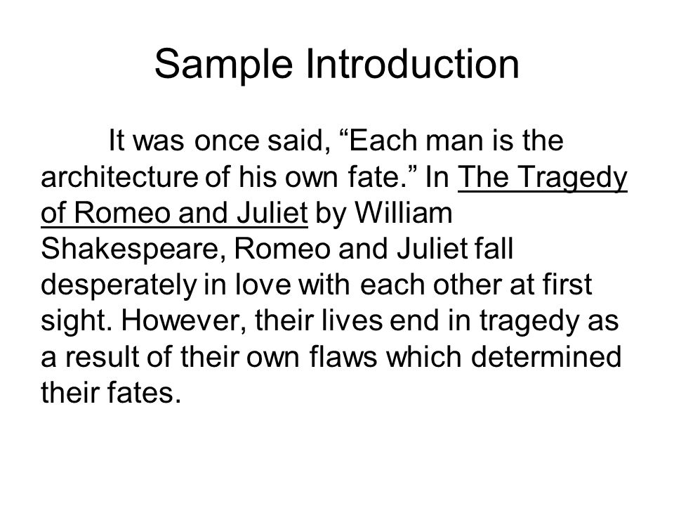 Romeo and Juliet themes essay