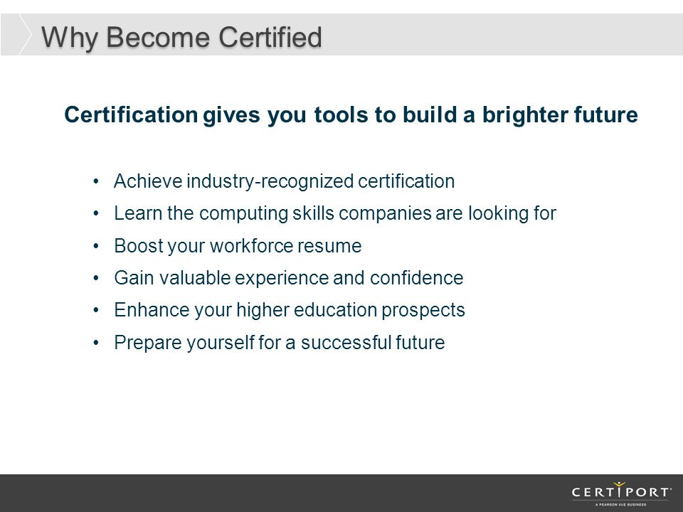 Why Implement The Mos Certification At Your School Ppt Download