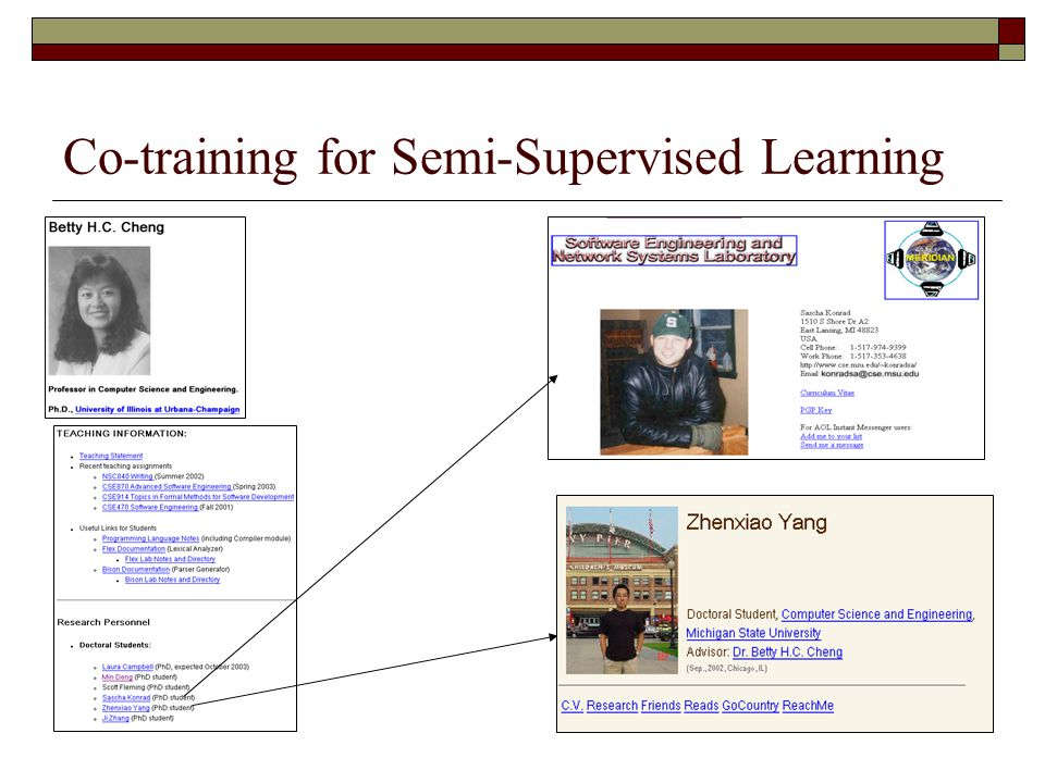 Co-training for Semi-Supervised Learning