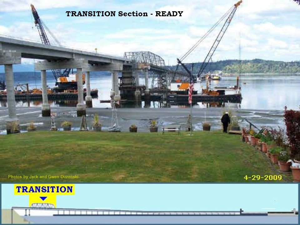 TRANSITION Section - READY Photos by Jack and Gwen Duzenski