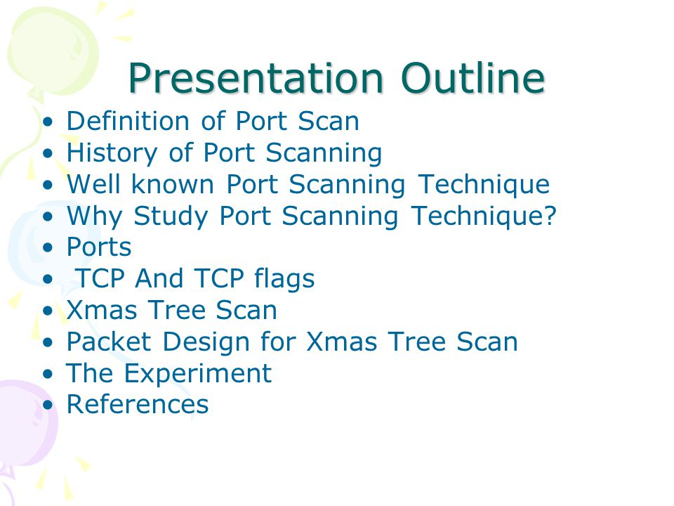 Xmas Tree Scan Detection With Snort Presented By Aqila Dissanayake