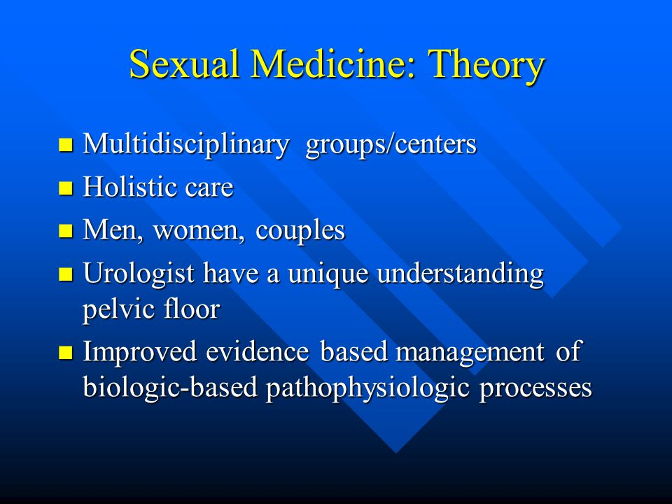 Chapter sexual health medicine
