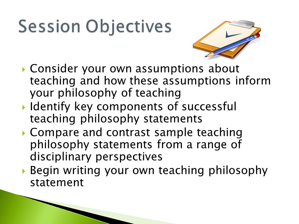 Why You Need a Statement of Teaching Philosophy and How to Develop ...