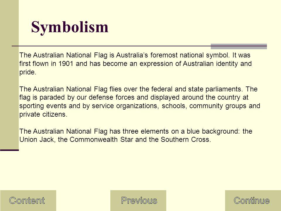 Content Symbolism Australian National Flag Day Flag Of Australia