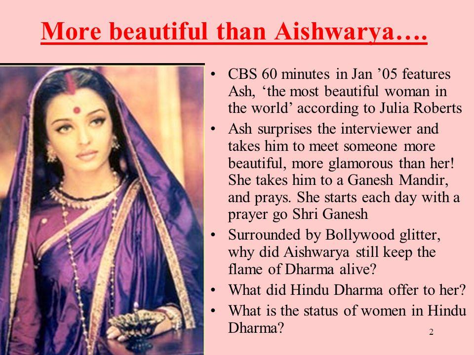 2 More Beautiful Than Aishwarya