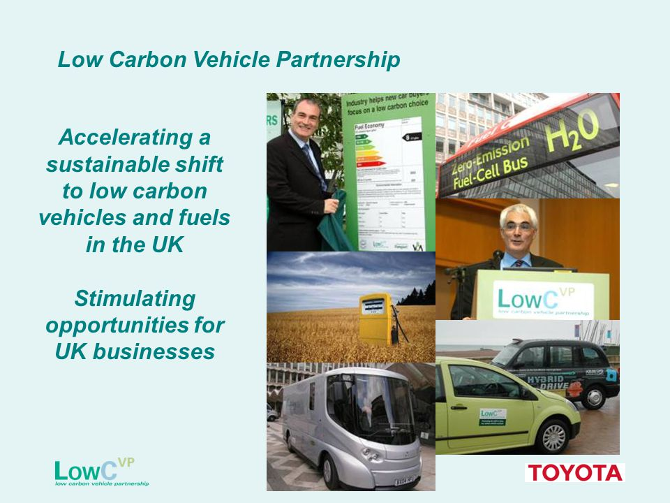 Moving consumer attitudes in favour of low carbon vehicles is a major challenge