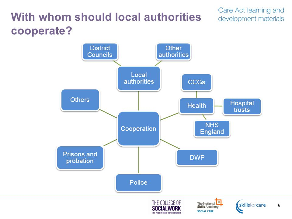 With whom should local authorities cooperate.