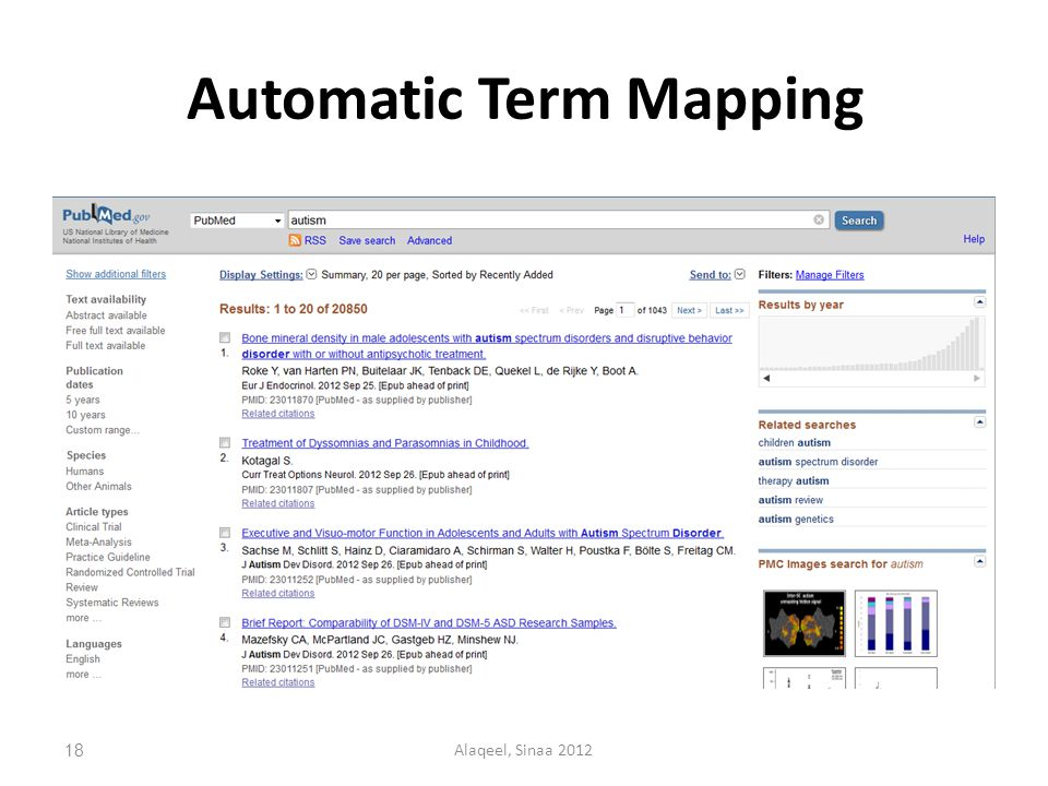 Automatic Term Mapping 18Alaqeel, Sinaa 2012