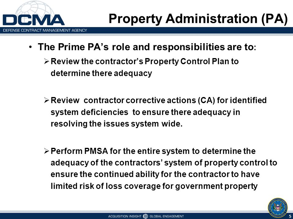 Property Administration (PA) Property Management System Analysis ...