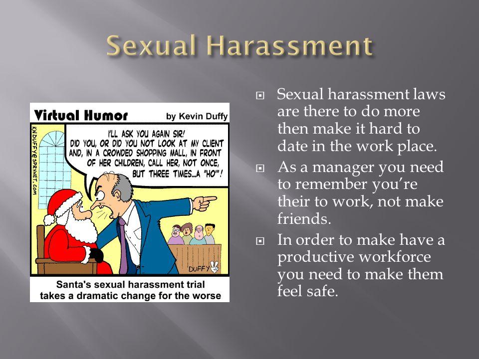 Virtual humor santa sexual harassment