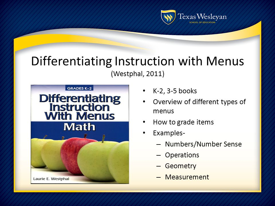 Math Menus A Recipe For Developing Number Sense Grades 3 5