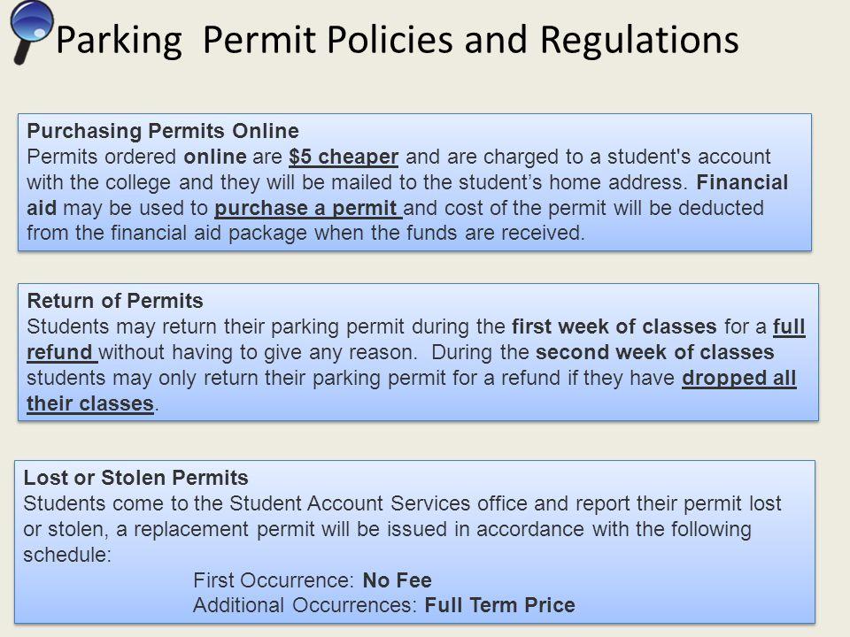 Purchase Parking Permit