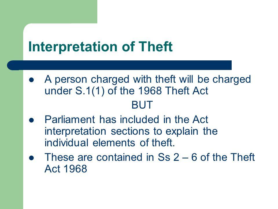 s1 theft act 1968