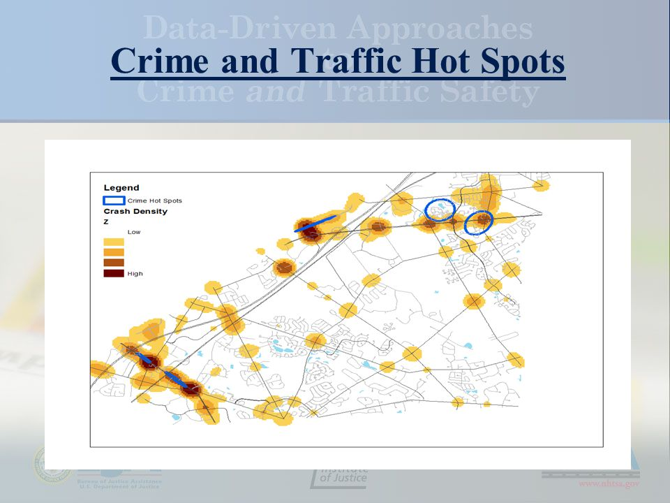 Crime and Traffic Hot Spots