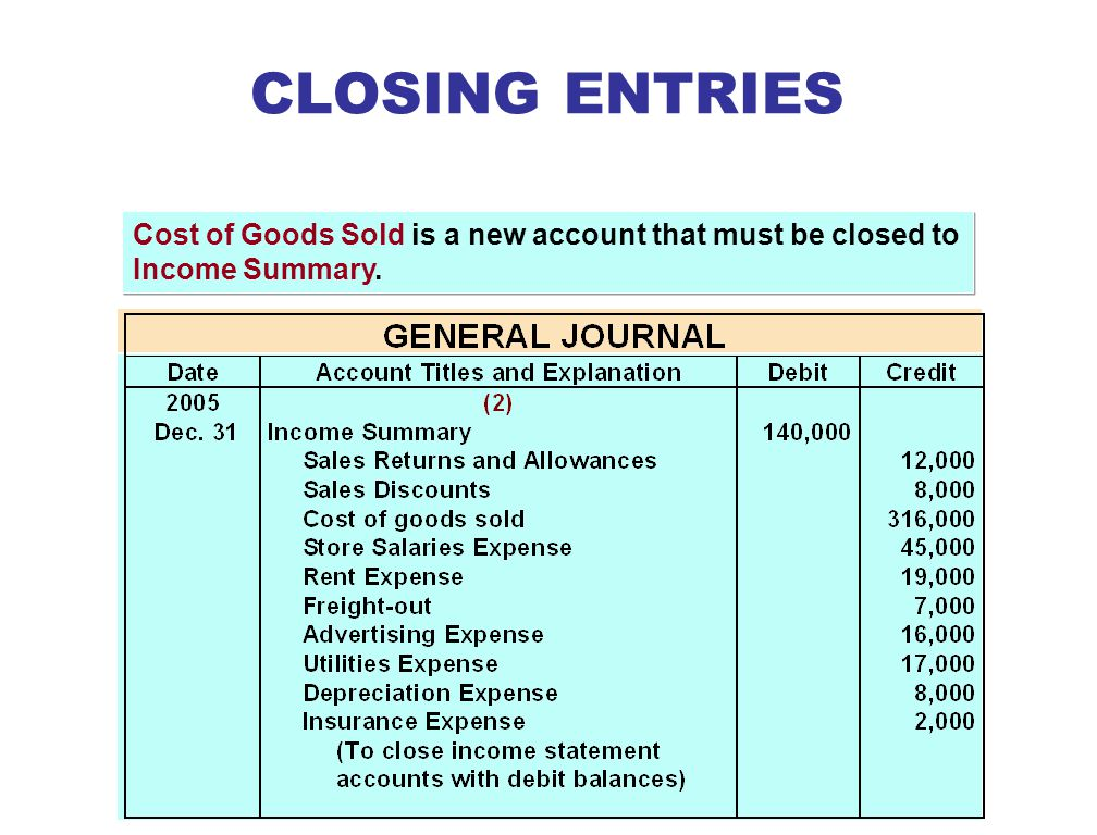 STUDY OBJECTIVE 4 CLOSING ENTRIES STUDY OBJECTIVE 4 Adjusting entries are journalized from the adjustment columns of the work sheet.