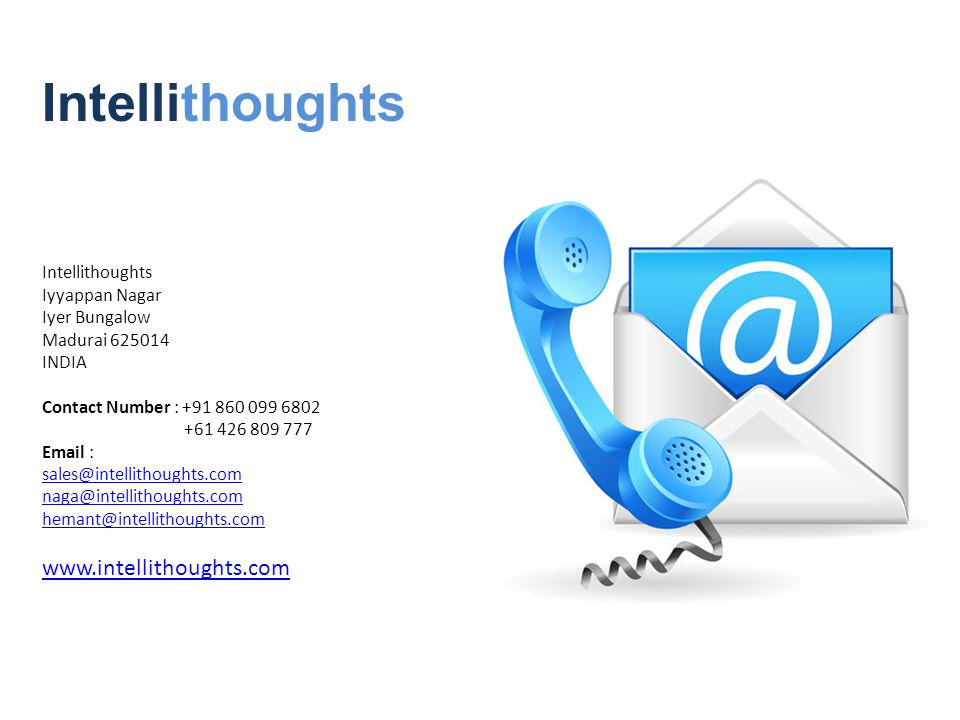 Intellithoughts Iyyappan Nagar Iyer Bungalow Madurai INDIA Contact Number : Intellithoughts