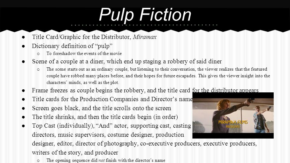 Research Action Films  Film Studies Opening Credits  - ppt