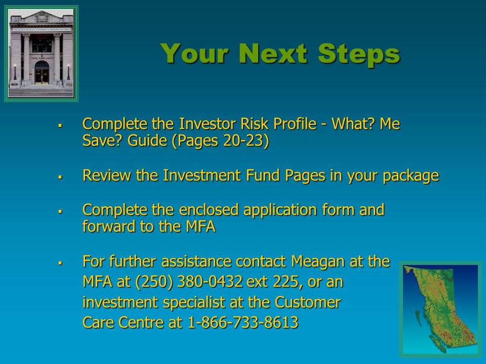 Municipal Investment Plan Agenda What Me Save Guide Saving For