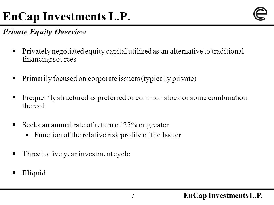 EnCap Investments L.P.