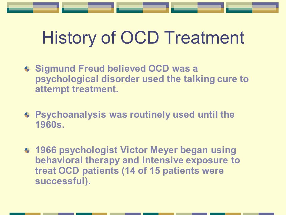 Obsessive Compulsive Disorder  What is OCD? A