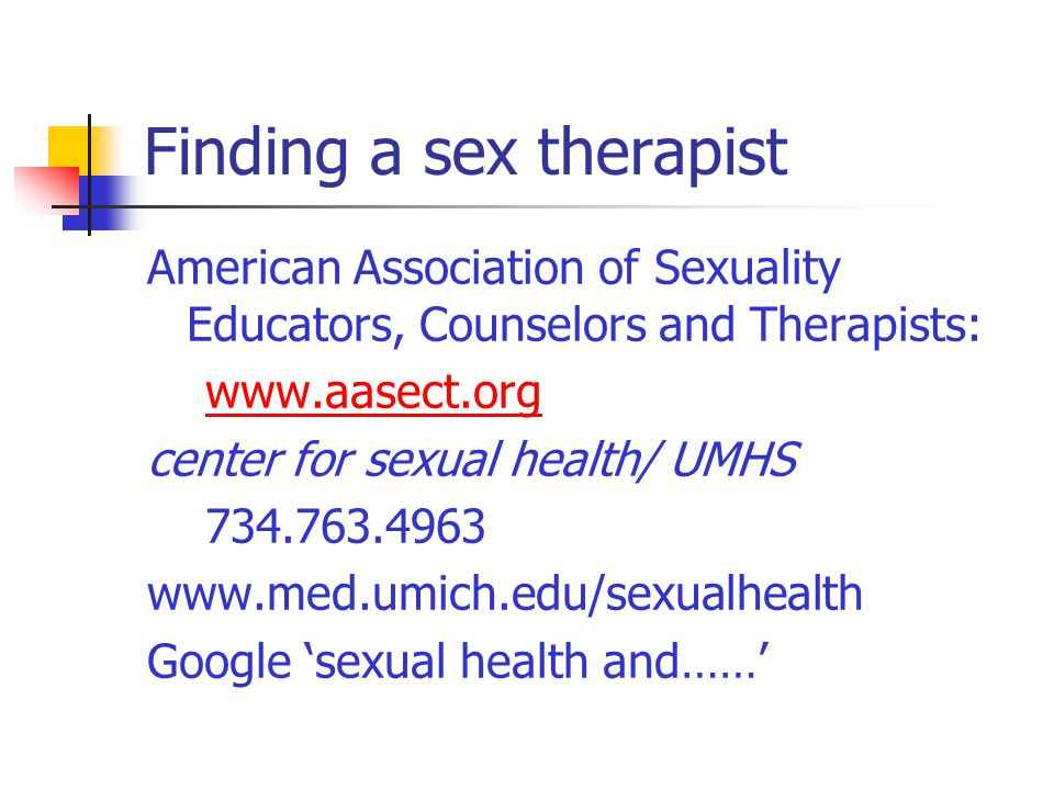 Sally foley sexual health michigan