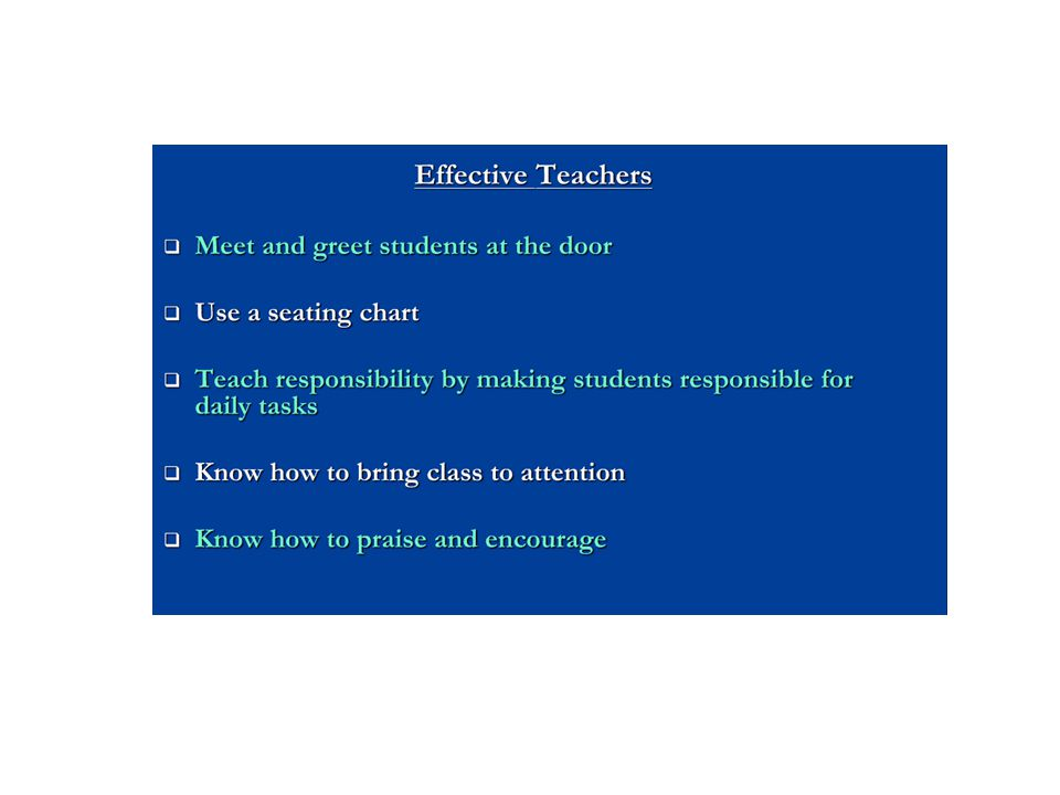 managing classrooms and behavior prevention someone who is