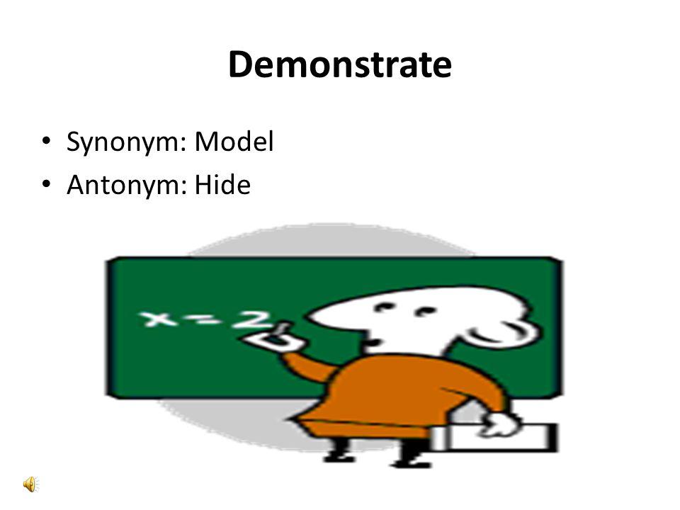 Celebrity Synonym: a star Antonym : unknown. Demonstrate Synonym ...