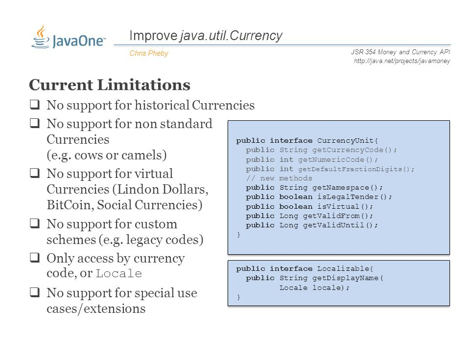 CON JSR 354 Money and Currency API Chris - ppt download - 웹
