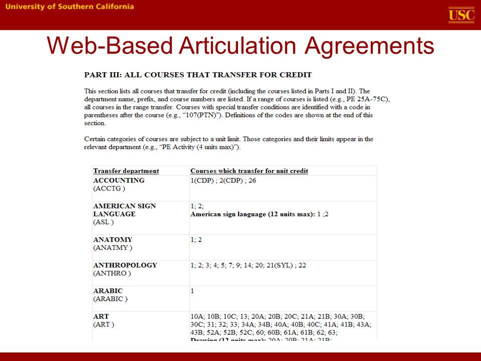 2012 Ciac Anaheim Ca Matt Bemis Associate Registrar Articulation