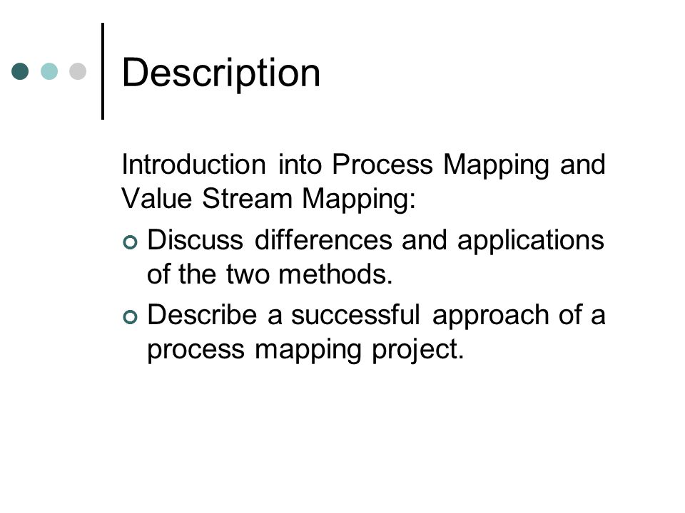 process mapping value stream mapping 2009 quality training karin