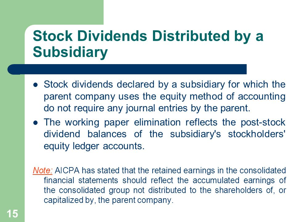14 Subsidiary with Preferred Stock Outstanding: Accounting Treatment The minority interest of preferred stockholders in the net assets of the subsidiary is measured by the call price of the preferred stock.