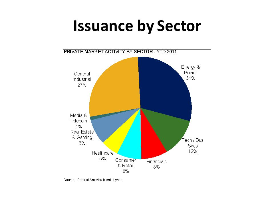 Issuance by Sector