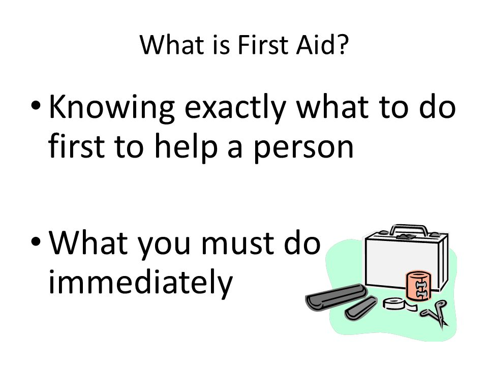 FIRST AID FOR BOY SCOUTS Instructors: Vicky and Jeff Cunningham
