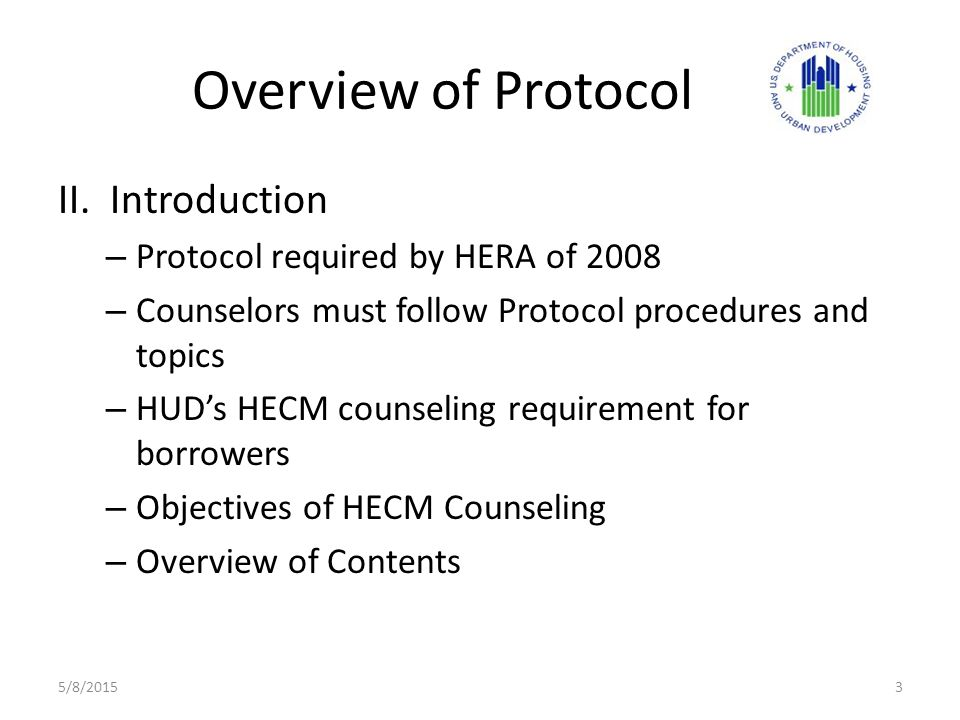 Overview of Protocol II.