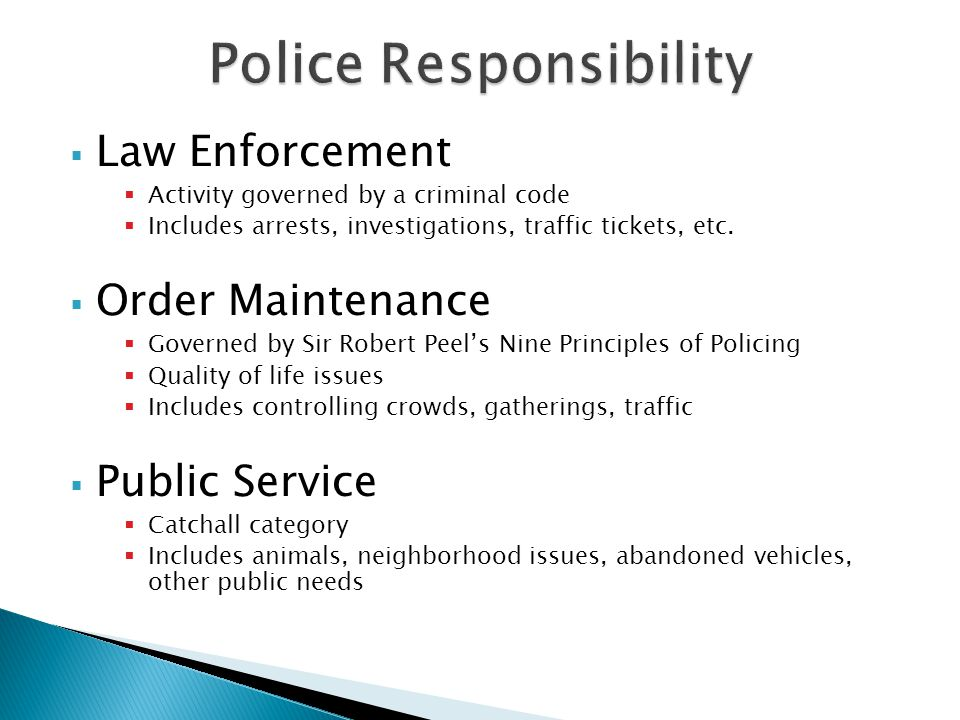 sir robert peels nine principles of policing