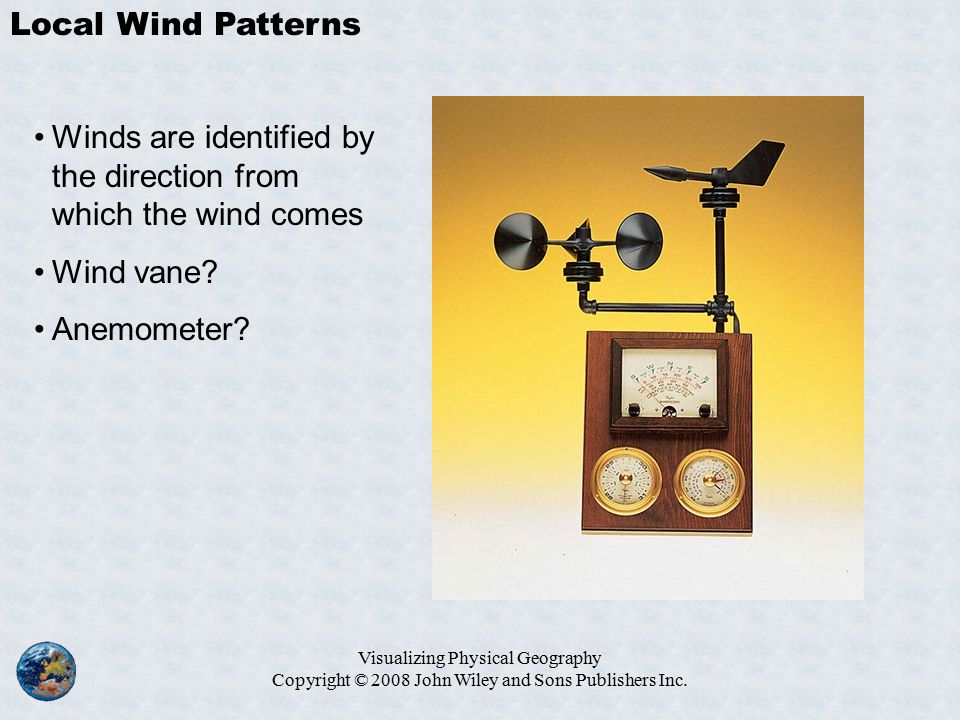 Visualizing Physical Geography Copyright © 2008 John Wiley and Sons Publishers Inc.