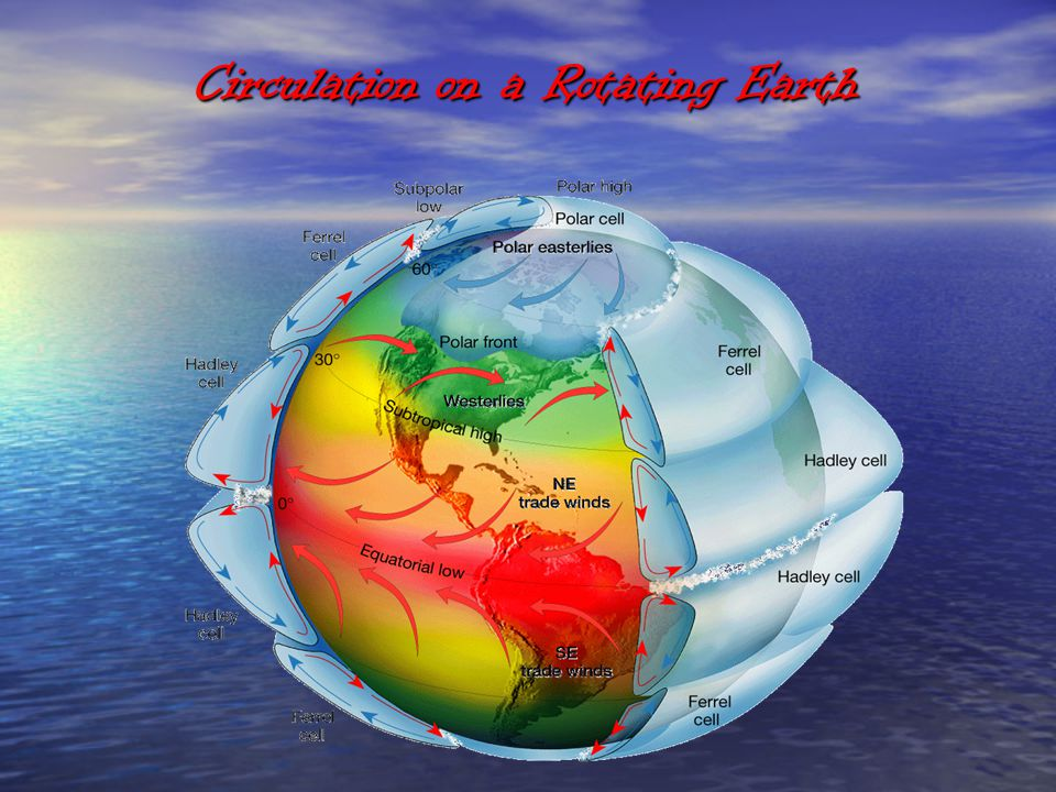 Circulation on a Rotating Earth