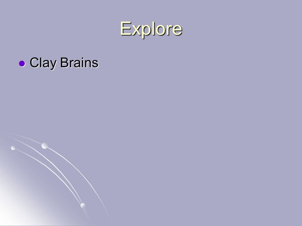Explore Clay Brains Clay Brains